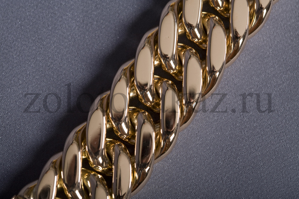 Золотой браслет мужской 50 грамм купить